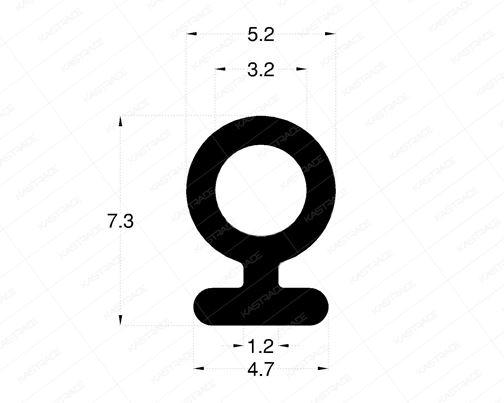 Rebate Gasket - Inner (Bulb)