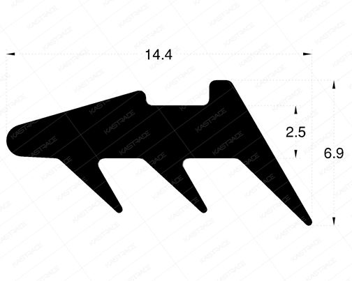 Glazing Gasket - Outer