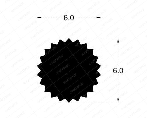 Flyscreen Gasket 6 mm