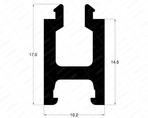 H Profile - 14.5 MM